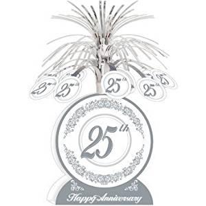 comprar centros de mesa para decoración bodas de plata