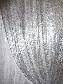 fondo en cortina para bodas de plata decoración