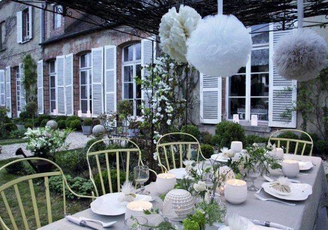 celebración bodas de plata en jardín