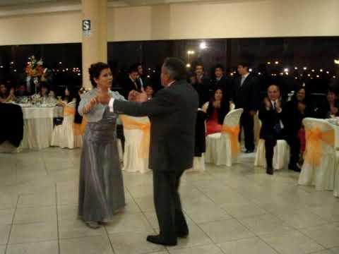 bodas de plata baile celebración