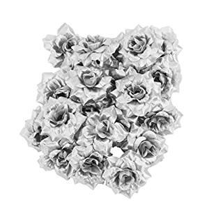comprar 50 rosas plateadas para regalar bodas de 25 aniversario