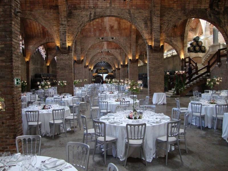 gran decoración para bodas de plata