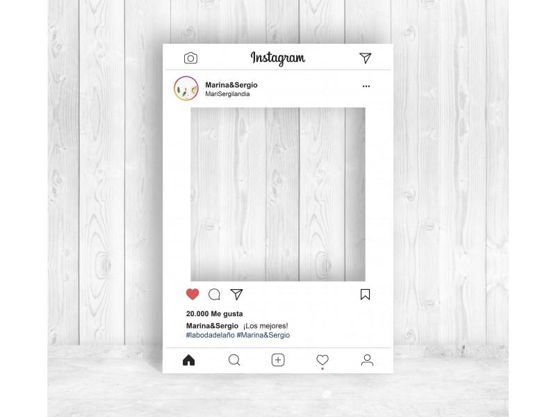 photocall bodas de plata instagram