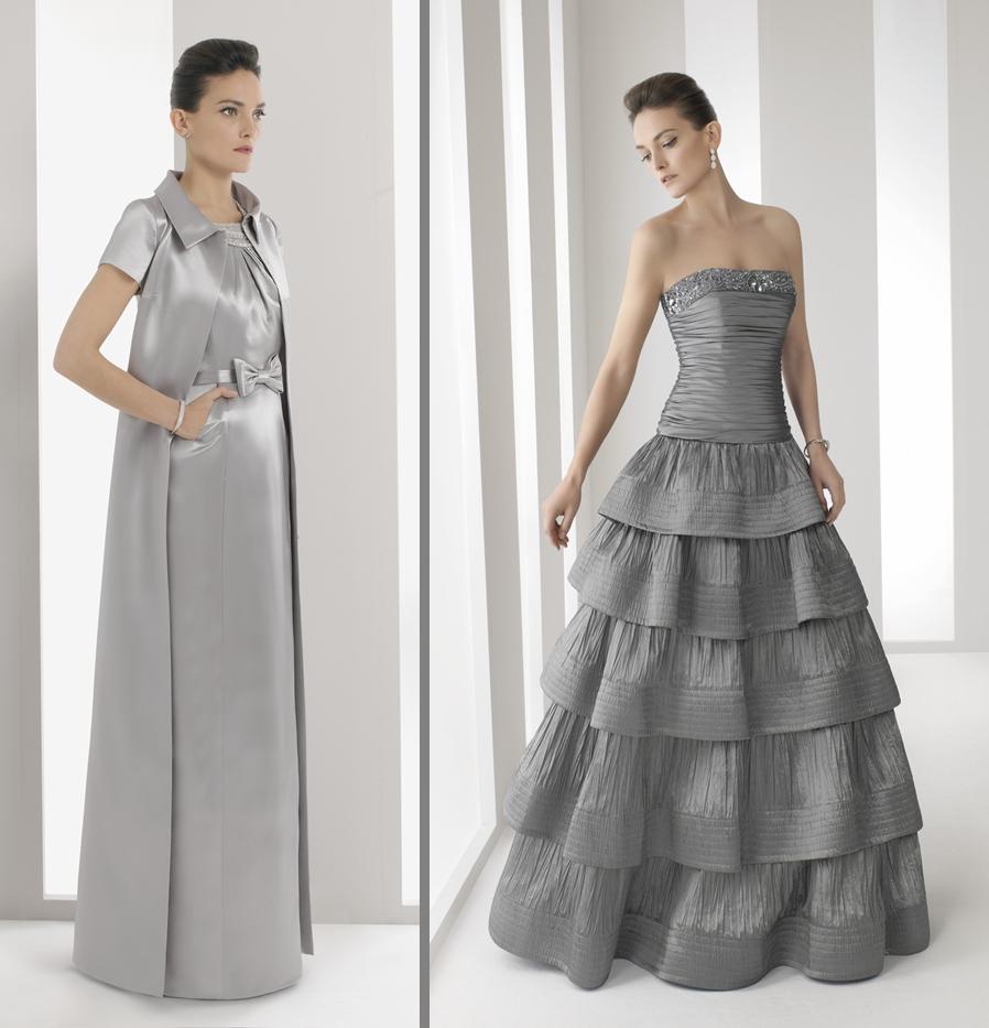 vestidos elegantes bodas de plata