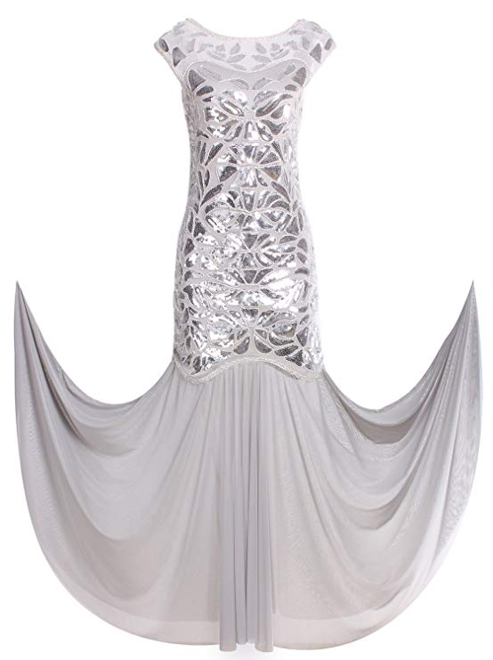 comprar vestido plateado bodas 25 aniversario