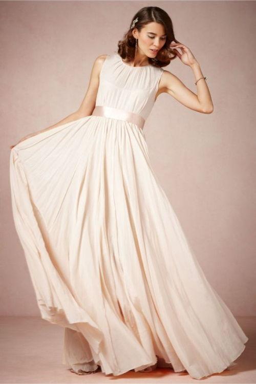 cómodo vestido largo bodas de plata